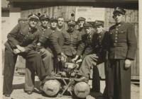 1946r przy motopompie