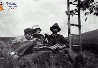 Zbiór czereśni Mysłaków 1952r.