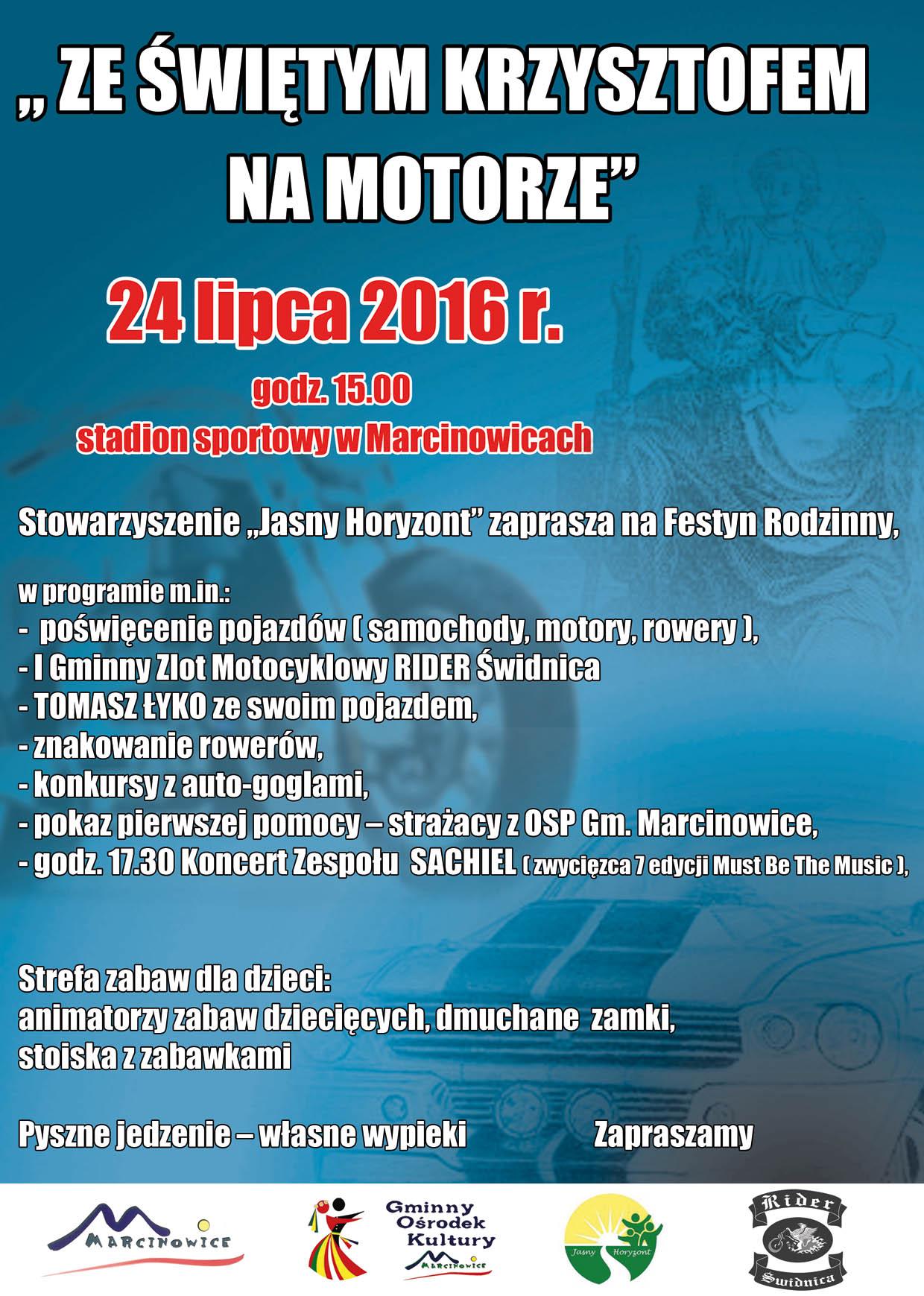 Plakat Z św Krzysztofem